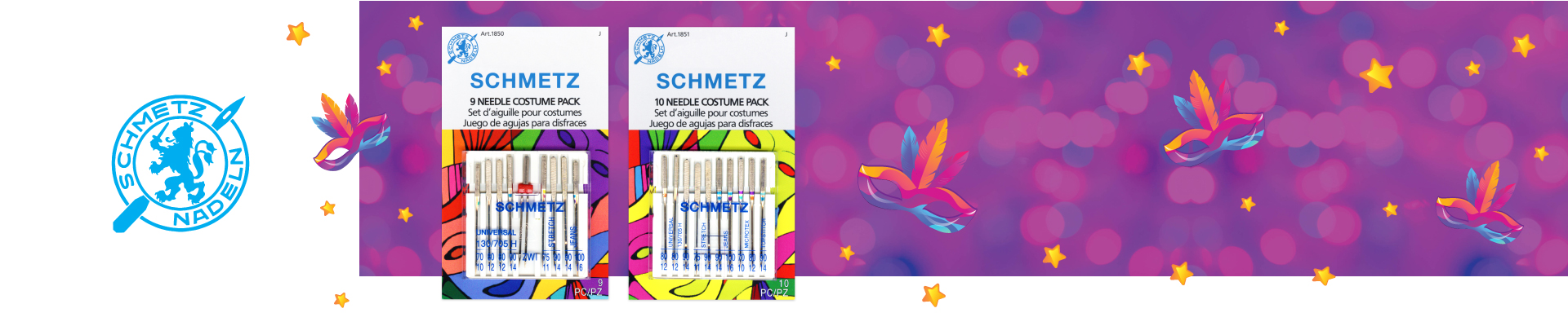SCHMETZ Needles Costume Pack