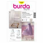 BURDA - 1980 Décor Crib Linen