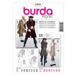 BURDA - 2459 Costume Mens-Pirate