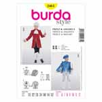 BURDA - 2461 Costume Child History