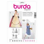 BURDA - 2479 Costume Ladies-Historical