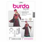 BURDA - 2509 Costume Ladies-Historical
