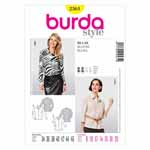 BURDA - 2561 Ladies Blouse