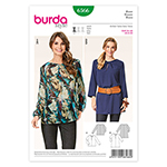 BURDA - 6566 Ladies Blouse