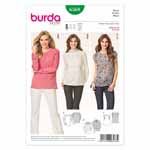 BURDA - 6568 Ladies Blouse
