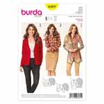 BURDA - 6569 Ladies Jacket