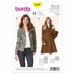 BURDA - 6570 Ladies Coat & Jacket
