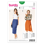 BURDA - 6571 Ladies Skirt