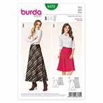 BURDA - 6572 Ladies Skirt