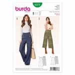 BURDA - 6573 Ladies Pants