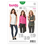 BURDA - 6578 Ladies Blouse