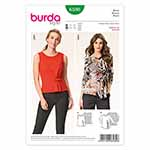 BURDA - 6580 Ladies Blouse