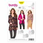 BURDA - 6581 Ladies Jacket