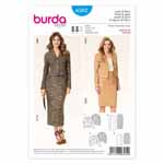BURDA - 6582 Ladies Jacket & Skirt