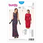 BURDA - 6585 Ladies Dress