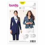 BURDA - 6587 Ladies Jacket