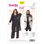 BURDA - 6588 Ladies Jacket