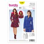 BURDA - 6596 Ladies Coat & Jacket