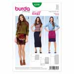 BURDA - 6598 Ladies Skirt