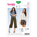 BURDA - 6600 Ladies Pants
