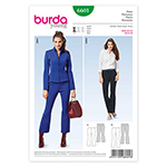 BURDA - 6601 Ladies Pants