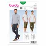 BURDA - 6603 Mens Pants