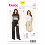 BURDA - 6613 Ladies Pants