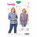 BURDA - 6614 Ladies Blouse