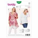 BURDA - 6615 Ladies Blouse
