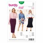 BURDA - 6617 Ladies Skirt