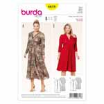 BURDA - 6618 Ladies Dress