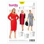 BURDA - 6620 Ladies Dress