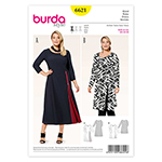 BURDA - 6621 Ladies Dress