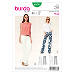 BURDA - 6636 Ladies Pants