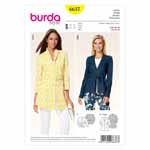 BURDA - 6637 Ladies Jacket