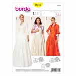 BURDA - 6645 Ladies Bolero