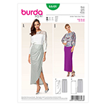BURDA - 6648 Ladies Skirt