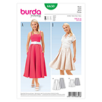 BURDA - 6650 Ladies Skirt