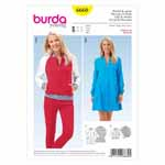 BURDA - 6660 Ladies Coat & Jacket