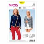 BURDA - 6661 Ladies Jacket