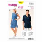 BURDA - 6662 Ladies Dress & Blouse
