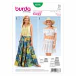 BURDA - 6666 Ladies Skirt