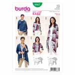 BURDA - 6667 Ladies Jacket