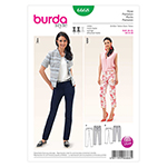 BURDA - 6668 Ladies Pants