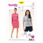 BURDA - 6669 Ladies Jacket