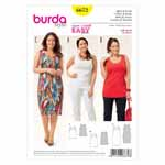 BURDA - 6672 Ladies Shirt & Dress