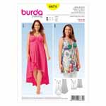 BURDA - 6674 Ladies Dress & Shirt
