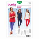 BURDA - 6677 Ladies Leggings