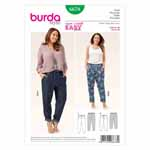 BURDA - 6678 Ladies Pants