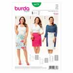 BURDA - 6679 Ladies Skirt